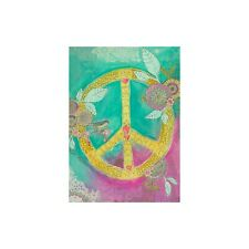 Peace Love Faith Hope All Occasions Greeting Card & Envelope by Tree Free