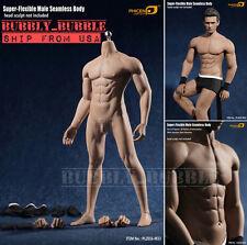 1/6 PHICEN PL2016-M33 Flexible Seamless Male Muscular Steel Skeleton Figure USA