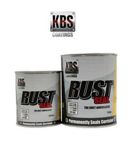 KBS RUST SEAL SATIN BLACK 1L - KBS Coatings Paint Sealer