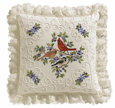 Candlewicking Embroidery Kit Janlynn Birds & Berries Picture / Pillow #004-0771