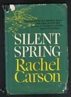 Silent Spring by Rachel Carson HC DJ 1962 BCE Environmentalist