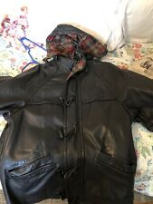 MacDouglas Vintage French Leather Coat