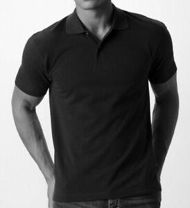 3er Pack Polo-Shirt, schwarz - TOP!!! Größen sind frei wählbar!