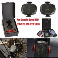 Wireless Ant+ Speed Cadence Sensor Für Garmin Edge 510 520 810 1000 GPS Cycling
