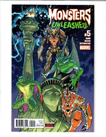 MONSTERS UNLEASHED #5 OCT 2017 MARVEL COMIC.#101371D*2