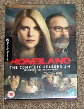 Homeland Seasons 1-4 New And Factory Sealed TV Box Set