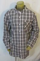 Ecko Unltd MEN'S SHIRT Button Front Long Sleeve Black Check Cotton XL NWT *