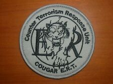 Obsolete Royal Hong Kong Police Counter Terrorism Response Unit Patch,Rare.