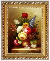 Ölbild Blumen Gemälde Blumenmotive Blumenmalerei ÖLGEMÄLDE HANDGEMALT 30x40cm