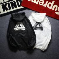 Triangle PALACE Skateboard Windbreaker Hoodie Tide Thin Baseball Jackets Coat