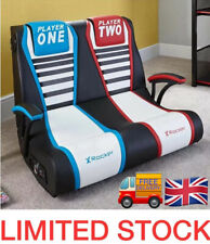 X-Rocker Duel v Double Gaming Chair Brand New Game floor rocker chair