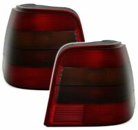 SMOKED REAR TAIL LIGHTS LAMPS FOR VW GOLF 4 MK4 MK 4 IV MODEL JUBI 1998-2004 TY3