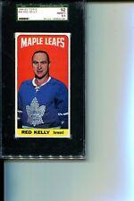 1964-5 TOPPS # 44 RED KELLY MAPLE LEAFS HOF SGC 92 NM-MT+ 8.5 SMR $180 STUNNER