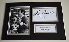 Ron Yeats Signed Autograph A4 photo mount display Liverpool Football AFTAL COA