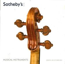SOTHEBY'S Violin Bows Musical Instruments Seraphin Vuillaume Auction Catalog 12
