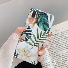 Для Huawei P30 P20 Pro P30 Lite художественная роспись мягкий элегантный цветок лист чехол для телефона