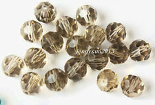 Czech Colorful Rondelle round Crystal Glass Spacer Loose Beads Charms 4 6 8 mm