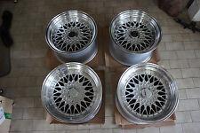 "JDM 17"" RS wheels Style 180sx dc2 240sx BBS LM s1 114.3x4 100x4 civic mesh"