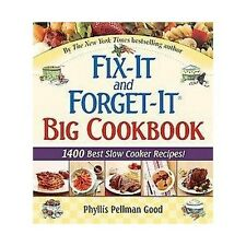 Fix-It And Forget-It Big Cookbook : 1400 Best Slow Cooker Recipes (Hardcover)...