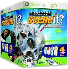 SCENE IT ? CINEMA EN FOLIE + 4 BUZZERS / XBOX 360 / NEUF SOUS BLISTER / VF
