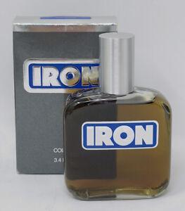 Vintage IRON Splash Cologne By Coty For Men 3.4oz Discontinued w/Original Box