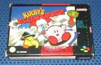 Kirby's Dream Course / / SNES, OVP, Anleitung - Nintendo 1996