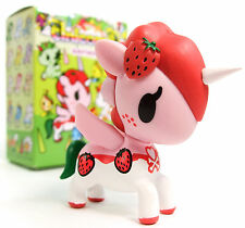 "Tokidoki Unicorno Series 4 RUBY Strawberry 3"" Mini Vinyl Figure Opened Blind Box"