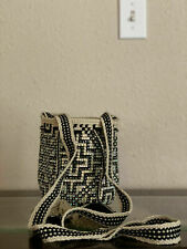 Wayuu Bag Handmade Black & White good qualité