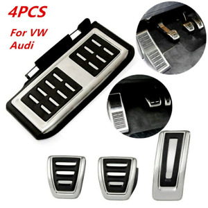 Anti-skid 4PC Car Manual Pedal For Audi A3 8V S3 Sportback Seat Leon Passat Kit