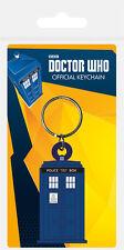 Doctor Who Tardis gomma portachiavi NUOVO Merchandising Ufficiale