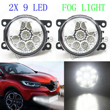 2X Full LED Fog Light Lamp For Renault Ford Fiesta Mitsubishi SUZUKI OPEL DACIA
