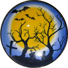 1inch Halloween Crystal Dome Button Haunted House HW 25   FREE US SHIPPING