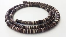 Violet Oyster Shell Heishi Beads (4 - 5mm / 24 Inches Strand)
