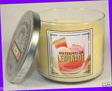 NEW! Bath & Body Works WATERMELON LEMONADE 3-Wick 14.5 oz Candle