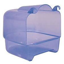 54032 Trixie Blue-transparent Plastic Bird Cage Bath House 15×16×17cm