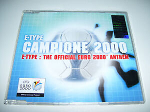 E-TYPE - CAMPIONE 2000 4tr. CD MAXI EURO UEFA ANTHEM