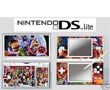nintendo DS Lite - MUPPET SHOW - 4 Piece Decal / Sticker Skin vinyl