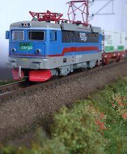 Z-scale Swedish FR SJ RC2 Electric Locomotive Green Cargo, Coreless Freudenreich