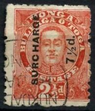Tonga 1895 SG#31, 7.5d On 2.5d Vermilion Used #D57794
