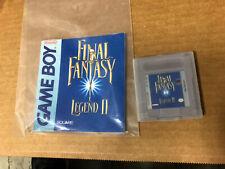 Final Fantasy Legend Ii 1998 (Nintendo Game Boy, 1998)