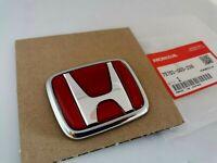 JDM Genuine Red Honda Emblem Civic EK9 Type-R Rear Emblem 75701-S03-Z00
