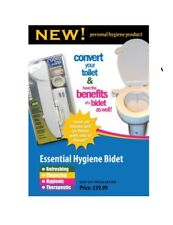 Fresh Water Bidet Spray Toilet Seat Attachment Non-Electric. All Parts Included