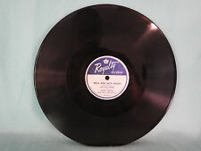 Pied Pipers, We'll Ride With Nixon/ Eisenhower Campaign, Royalty RY 101, 78 RPM