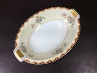 "BEAUTIFUL ANTIQUE MEITO FINE CHINA OCCUPIED JAPAN 11 1/2"" OVAL SERVING BOWL"