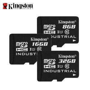 Kingston Industrial Temperature 8GB 16GB 32GB microSDHC card C10 UHS-I w/Adapter