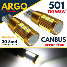 MERCEDES S211 W211 FRONT SIDE LAMP WHITE XENON 30 SMD LED T10 W5W 501 CREE