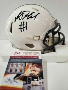 KJ HAMLER Signed / Autographed Penn State Speed Mini Helmet JSA COA Broncos