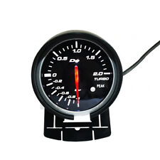 High Qualit Racing Gauge Car Turbo Gauge Boost Gauge with Red & White Light 60mm