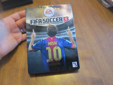 FIFA Soccer 13 PS3 Sony LIMITED EDITION CASE STEELBOOK HARD TO FIND