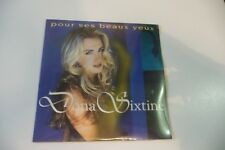 DONA SIXTINE CD 2 TITRES POCHETTE CARTONNEE NEUF. POUR SES BEAUX YEUX / EDEN.